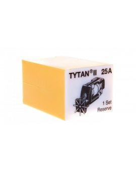 Wtyk bezpiecznikowy D02/gG/25A/400V Z-SLS/B-25A z sygnalizacją 268990 (3szt.)