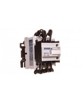 Stycznik łączenia kondensatorów 3P 10/20kvar 29/37, 5A 1Z 1R SLK_3SC19-43