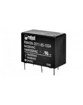 Przekaźnik miniaturowy 1P 5A 24V DC PCB RM45N-3011-85-1024 2614961