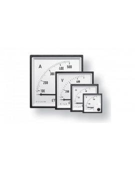 Amperomierz analogowy tablicowy 15A klasa 1, 5 48x48mm PQ48 004805266