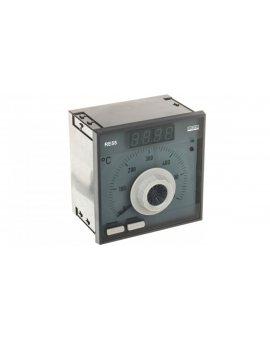 Regulator analogowy nastawa Fe-CuNi 0-600st.C regulator PID konfigurowane wyjście przekaźnikowe bez atestu KJ RE55 0931000