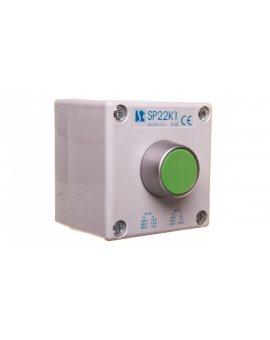 Kaseta sterownicza SP22K1/01-1 przycisk kryty zielony