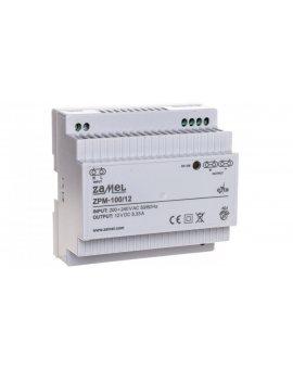 Zasilacz impulsowy TH-35 100W 12V DC ZPM-100/12 EXT10000212