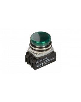 Lampka sygnalizacyjna 30mm zielona 24-230V AC/DC LED W0-LDU1-NEF30LD Z
