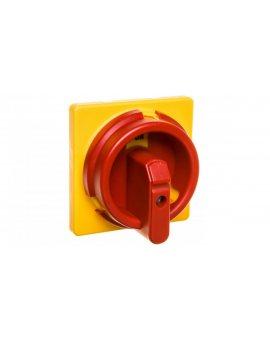 Napęd bezpośredni czerwono-żółty IP67 do rozłączników ON_PB, OL40_PB OZ331P67RY 1SCA111429R1001