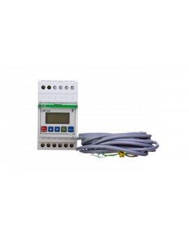 Regulator temperatury z zegarem sterujacym 0-60 st.C 1P 16A cyfrowy CRT-04
