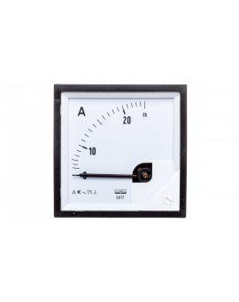 Amperomierz analogowy tablicowy 0-25A 72x72mm IP50 C3 K=90 st. EA17N E21000000000