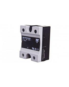 Przekaźnik półprzewodnikowy jednofazowy 50A 90-280V AC sterowanie 4-20mA RM1E23AA50
