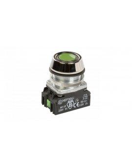 Przycisk sterowniczy 30mm zielony z samopowrotem 1Z 1R W0-NEF30-UK XY Z