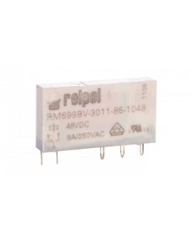Przekaźniki miniaturowy 1P 6A 48V DC PCB RM699BV-3011-85-1048 2613697