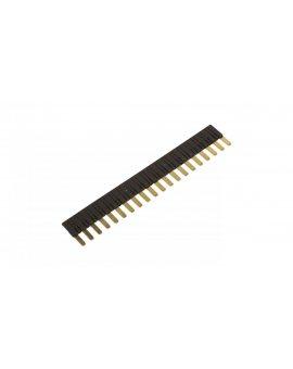 Mostek grzebieniowy 20-zębowe czarny ZG20-2 2608955