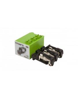 Wtyk bezpiecznikowy D01/gG/6A/400V Z-SLS/B-6A z sygnalizacją 268986 (3szt.)