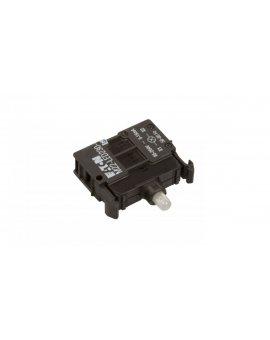 Oprawka z LED zielona 230V AC M22-LED230-G 216565