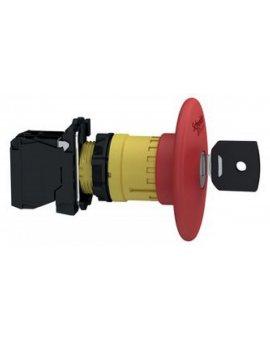 Przycisk bezpieczeństwa 22mm 0Z 1R IP66 klucz XB5AS9442