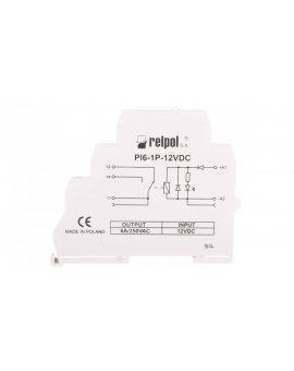 Przekaźnik interfejsowy 1P 12A 12V DC AgSnO2 PI6-1P-12VDC 858549