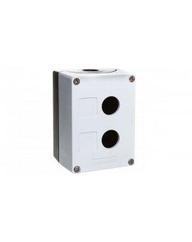 Obudowa kasety 2-otworowa 22mm czarno-szara M20 IP69k Sirius ACT 3SU1802-0AA00-0AB1
