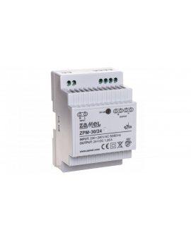 Zasilacz impulsowy TH-35 30W 24V DC ZPM-30/24 EXT10000209
