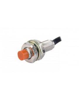 Czujnik indukcyjny cylindryczny M8 z przewodem 2m Sn=2mm 10-30VDC PNP NO LED IP67 PR08-2DP