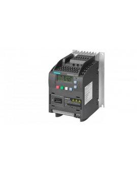 Falownik Uwe=400V, Uwy=3x400V/5, 6A 2, 2kW Sinamics V20 6SL3210-5BE22-2CV0