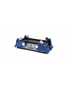 Przyłącze metalowe, puste, 16 pin, 16 A, done przyłączenie (montaż na przegrodzie), ręczne zamknięcia z rolką - plastikowe T0-EBM16GM44
