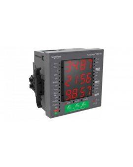 Miernik parametrów sieci (U, I, P, Q, f, PF, E) 5/1A przekładnik 0-600V AC tablicowy 96x96mm PM2120 METSEPM2120