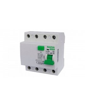 Wyłącznik różnicowoprądowy 4P 63A 0, 03A typ AC / SR6HM-4P-63