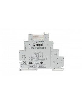Przekaźnik interfejsowy 1P 6A 230V AC/DC AgSnO2 PIR6W-1P-230VAC/DC 858609