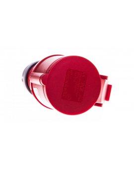 Gniazdo przenośne 16A 4P 400V czerwone IP44 SHARK 214-6
