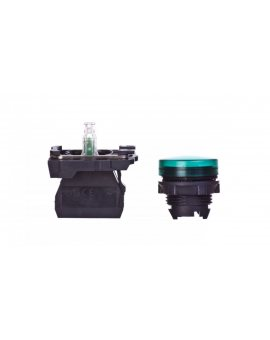 Lampka sygnalizacyjna 22mm zielona 24V AC/DC LED XB5AVB3
