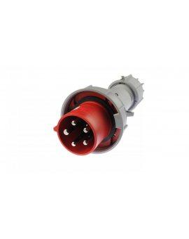Wtyczka przenośna 63A 5P 400V czerwona IP67 POWER TWIST 035-6