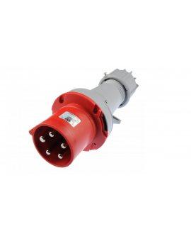 Wtyczka przenośna 63A 5P 400V czerwona IP44 POWER TWIST 0351-6