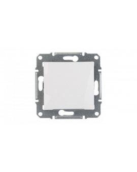 Sedna Łącznik jednobiegunowy 10AX biały SDN0100121