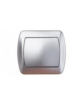 Simon Akord Łącznik jednobiegunowy aluminium metalizowane AW1/26