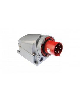 Wtyczka odbiornikowa 63A 5P 400V czerwona IP67 POWER TWIST 535-6