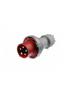 Wtyczka przenośna 125A 5P 400V czerwona IP67 POWER TWIST 045-6