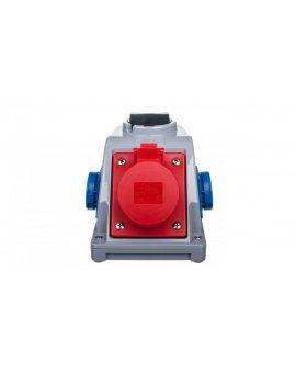 Gniazdo stałe z wyłącznikiem 0-1 16A 5P 400V + 2x 2P+Z 230V IP44 COMBO-POL 96061542W