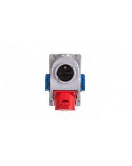 Gniazdo stałe z wyłącznikiem 0-1 32A 5P 400V + 2x2P+Z 230V IP44 COMBO-POL 96062542W