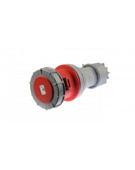 Gniazdo przenośne 125A 5P 400V czerwone IP67 POWER TWIST 245-6