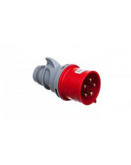 Wtyczka przenośna 32A 5P 400V czerwona IP44 TURBO SHARK 025-6TT