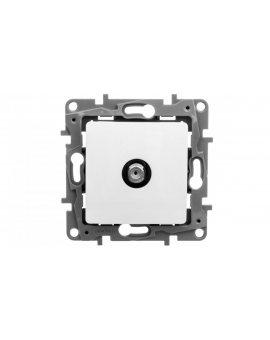 NILOE Gniazdo antenowe TV Typu F 1 dB białe 764550