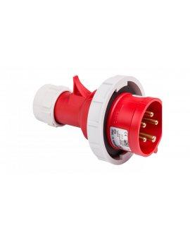 Wtyczka przenośna 16A 5P 400V czerwona IP67 SHARK 0152-6