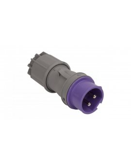Wtyczka przenośna 16A 2P 24V fioletowa IP44 TWIST 062v