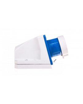 Wtyczka odbiornikowa z zatyczką 16A 3P 230V niebieska IP44 513-6t
