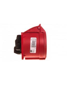 Gniazdo tablicowe 32A 5P 400V /70x70/ czerwone IP44 325-6