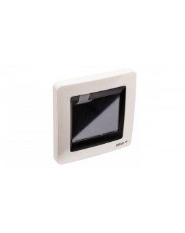 Termostat DEVIreg Touch 230V 16A 5-45°C IP21 biały 140F1064