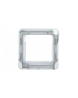 PLEXO55 Adapter do mechanizmów MOSAIC szary / biały 069580