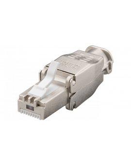 Wtyk teleinformatyczny RJ45 kat.6A STP /beznarzędziowy/ 38292