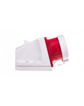 Wtyczka odbiornikowa z zatyczką 16A 5P 400V czerwona IP44 515-6t