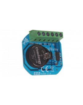 Radiowy bateryjny nadajnik 5-kanałowy - montaż pod przycisk zasilanie 3V FW-RC5