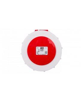 Gniazdo tablicowe 32A 5P 400V /75x75/ czerwone IP67 POWER TWIST 3252-6